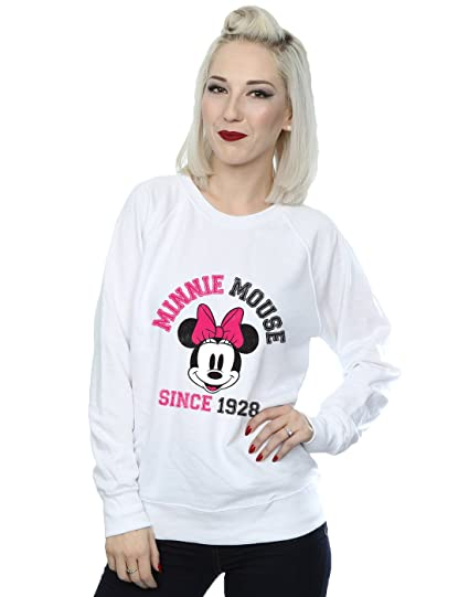 d06b61f6a9e Disney Femme Mickey Mouse Since 1928 Sweat-Shirt  Amazon.fr ...