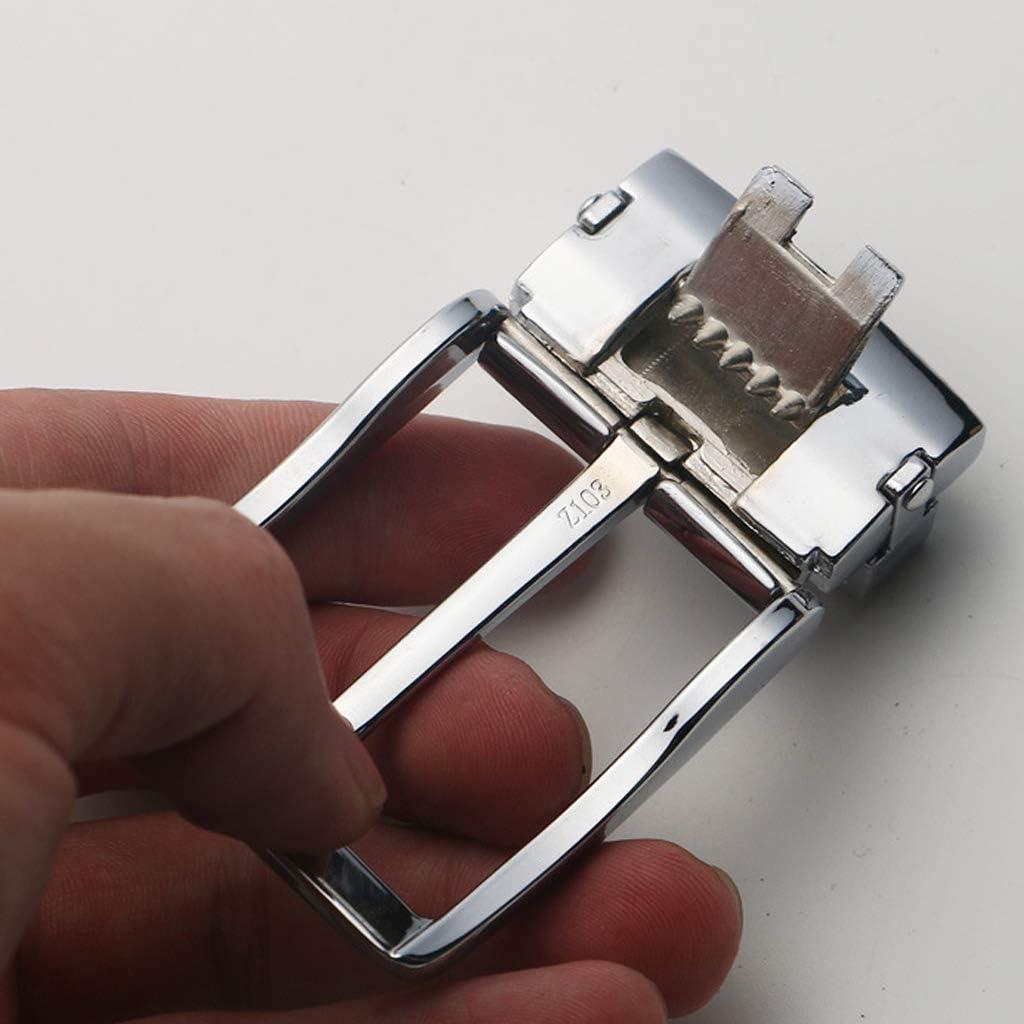 chiwanji Klassische 40mm G/ürtelschnalle Rechteckige Dornschlie/ße Metall G/ürtel Schnalle Ersatz Buckle