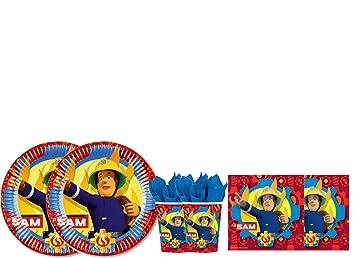 DECORATA PARTY Kit - A Fiesta de cumpleaños Sam el Bombero ...