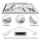UZOPI Ultra-Thin Potable Tracing Light Box for
