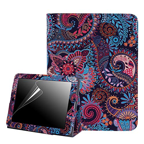 - HDE Case for Original iPad 1st Generation - Slim Fit Leather Cover Stand Folio with Magnetic Closure for Apple iPad 1 (Purple Paisley)