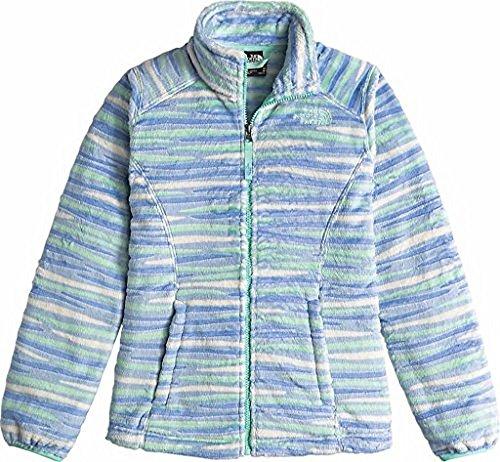 Grapemist (The North Face Osolita Jacket Girls' Grapemist Blue Wavy Stripe X-Large)