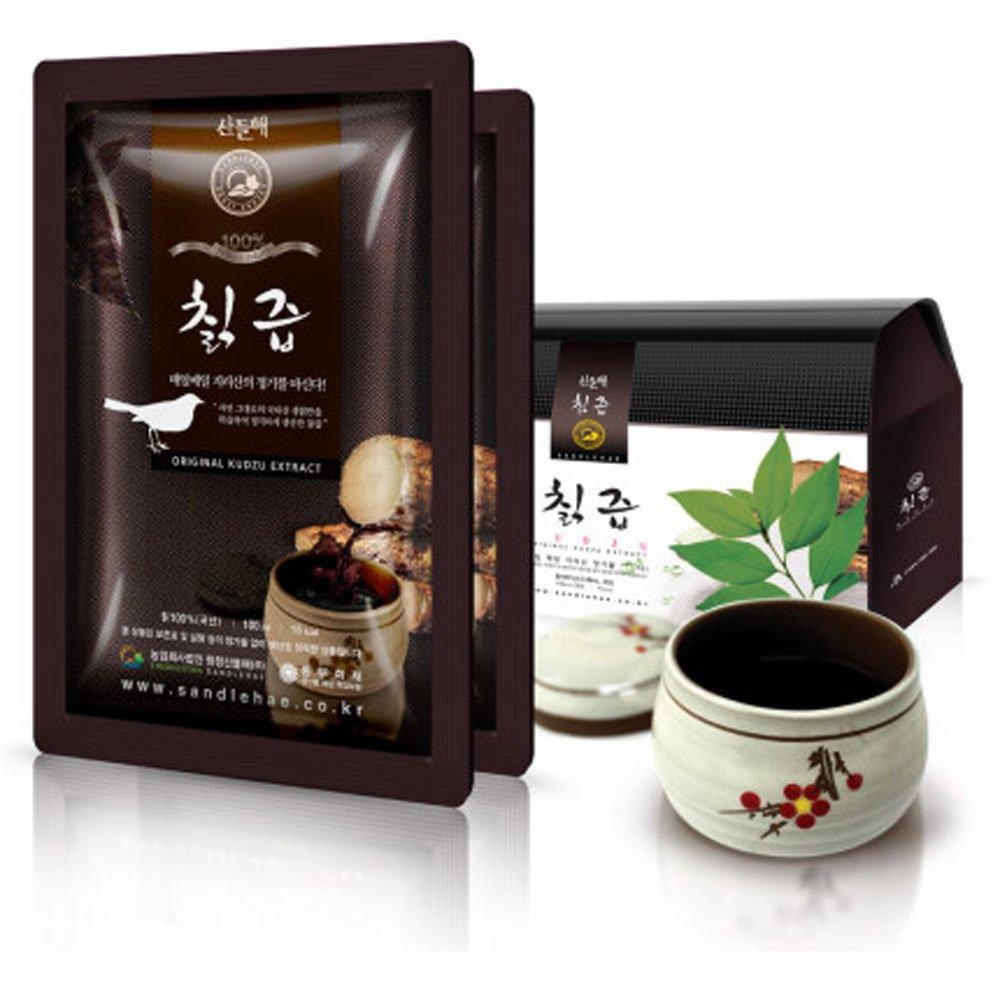 [Sandle Hae] Jirisan Arrowroot Juice 100ml [1Box X 30Pack] /Gift/Health Food/Drink/Parents/Children/Special Price/Concentrate/Vegetable Juice/