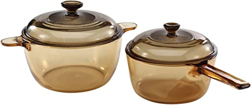 VISIONS Glass Cookware Set