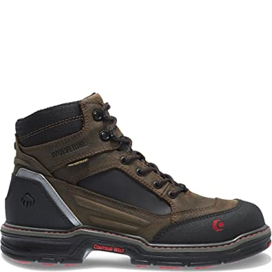 24894514e1c Wolverine Men's Overman Nano Toe 6 Inch WPF Contour Welt Work Boot