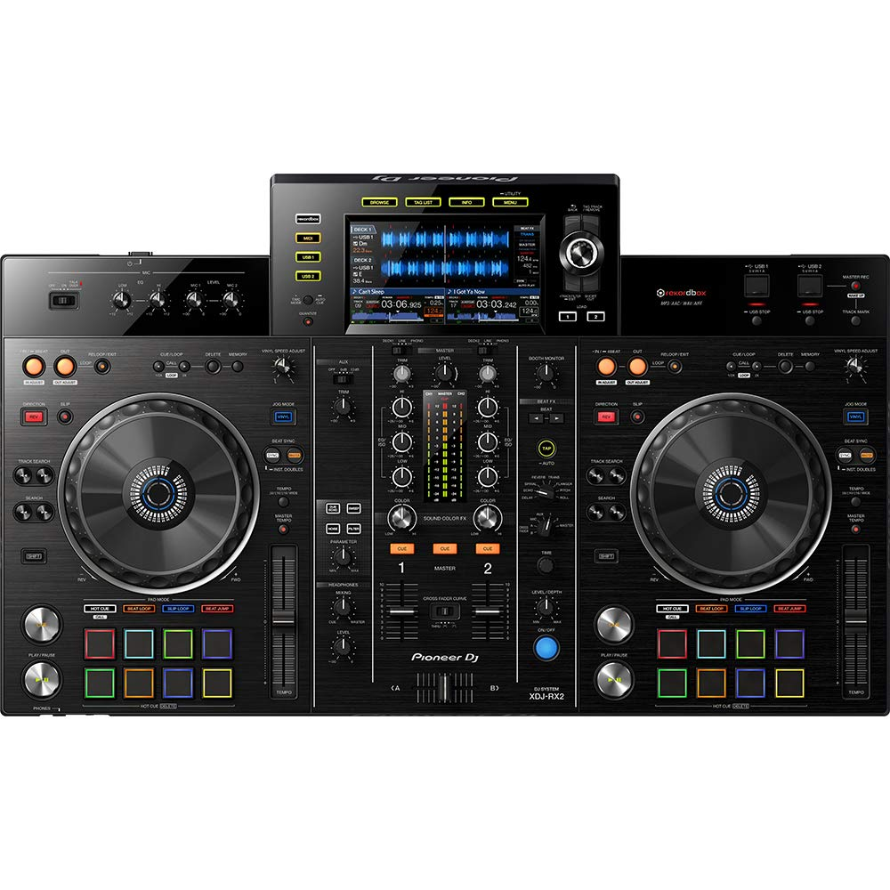 front facing pioneer xdj-rx2