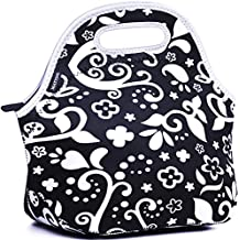 MATTINO Insulated Lunch Bag - Neoprene Lunch Bag - Large Reusable Lunch Tote Bags for Women, Teens, Girls, Kids, Baby, Adults - Cool Fashion Designer Lunch Box for Work, Office, School or Gym