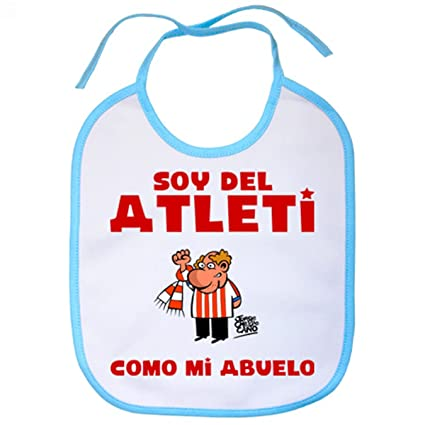 Babero Atlético de Madrid soy del atleti como mi abuelo ...