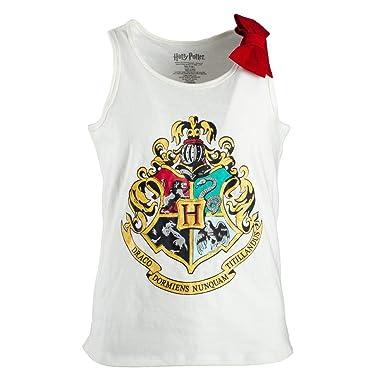 f2223356 Bioworld Hogwarts Tank Top Harry Potter Shirt Hogwarts Clothing Harry  Potter Tank Top-Medium White