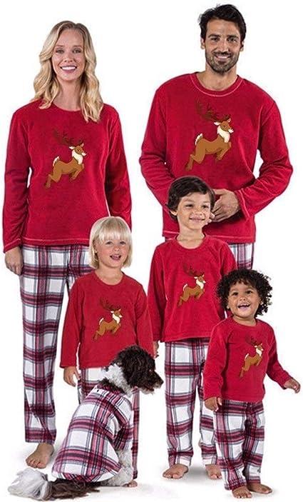 LABAICAI 2019 Familia de Navidad Pijamas Serie de ...