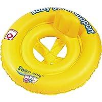 Baby Float - Oturaklı Bebek Can Simiti 69 cm Sarı Ayak Geçmeli