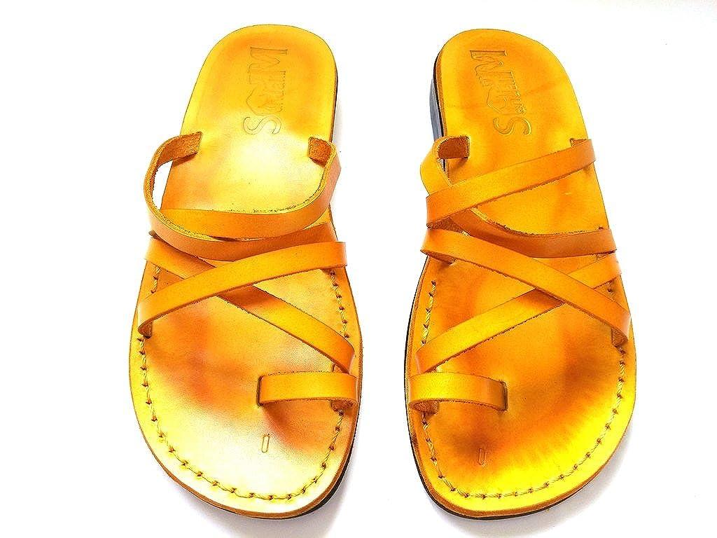 SANDALIM Beautiful Handmade Sandals for Men Women Genuine Leather Sivan Style