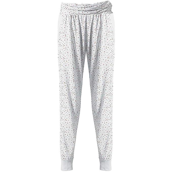 Love to Sleep Long Leg Striped Plain Floral Cotton Womens Pyjama Bottoms Loungewear