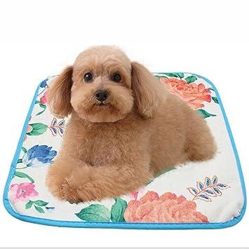 Zantec Cama eléctrica del animal doméstico de la manta eléctrica del cojín de calor 220V 18W para el conejito del perro del gato: Amazon.es: Hogar