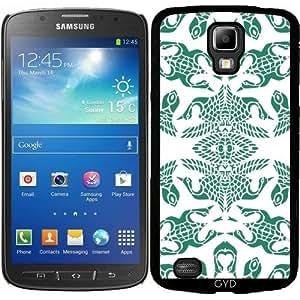 Funda para Samsung Galaxy S4 Active i9295 - Kaleidoscop Pájaro by LoRo-Design