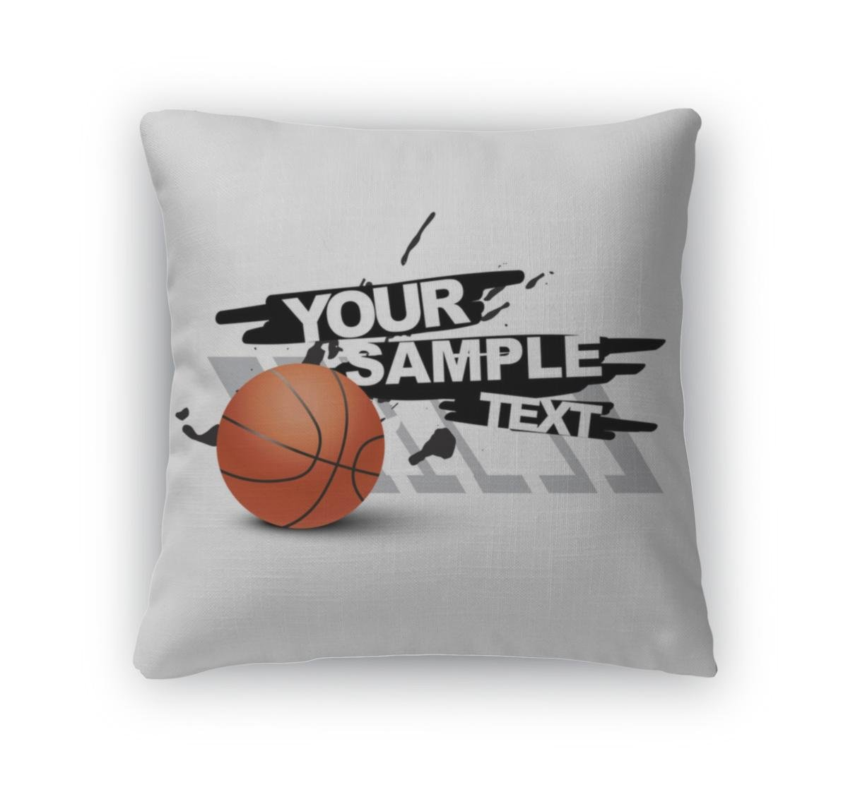 Gear nueva manta almohada Accent Decor, baloncesto, 6282874 GN ...