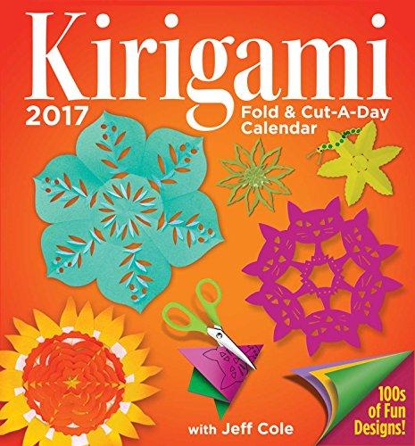 Kirigami Fold & Cut-A-Day 2017 Day-to-Day Calendar