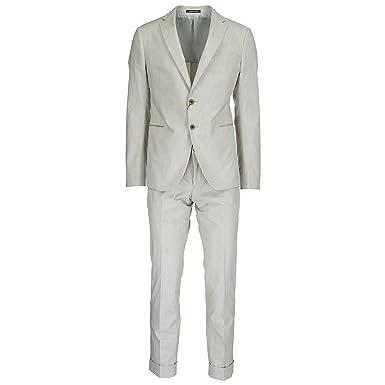 9bdfca06aa8 Emporio Armani costume pour homme gris EU 50 (UK 40) W1VM1SW1516115 ...