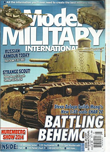 MODEL MILITARY INTERNATIONAL, APRIL, 2014 (ALL THE INFORMATION YOU 'LL EVER NEED ()