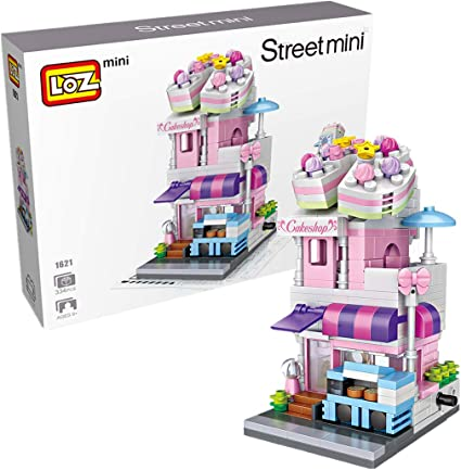 Mini Beauty Store Pharmacy Sushi Store Street View Lego Building Blocks City