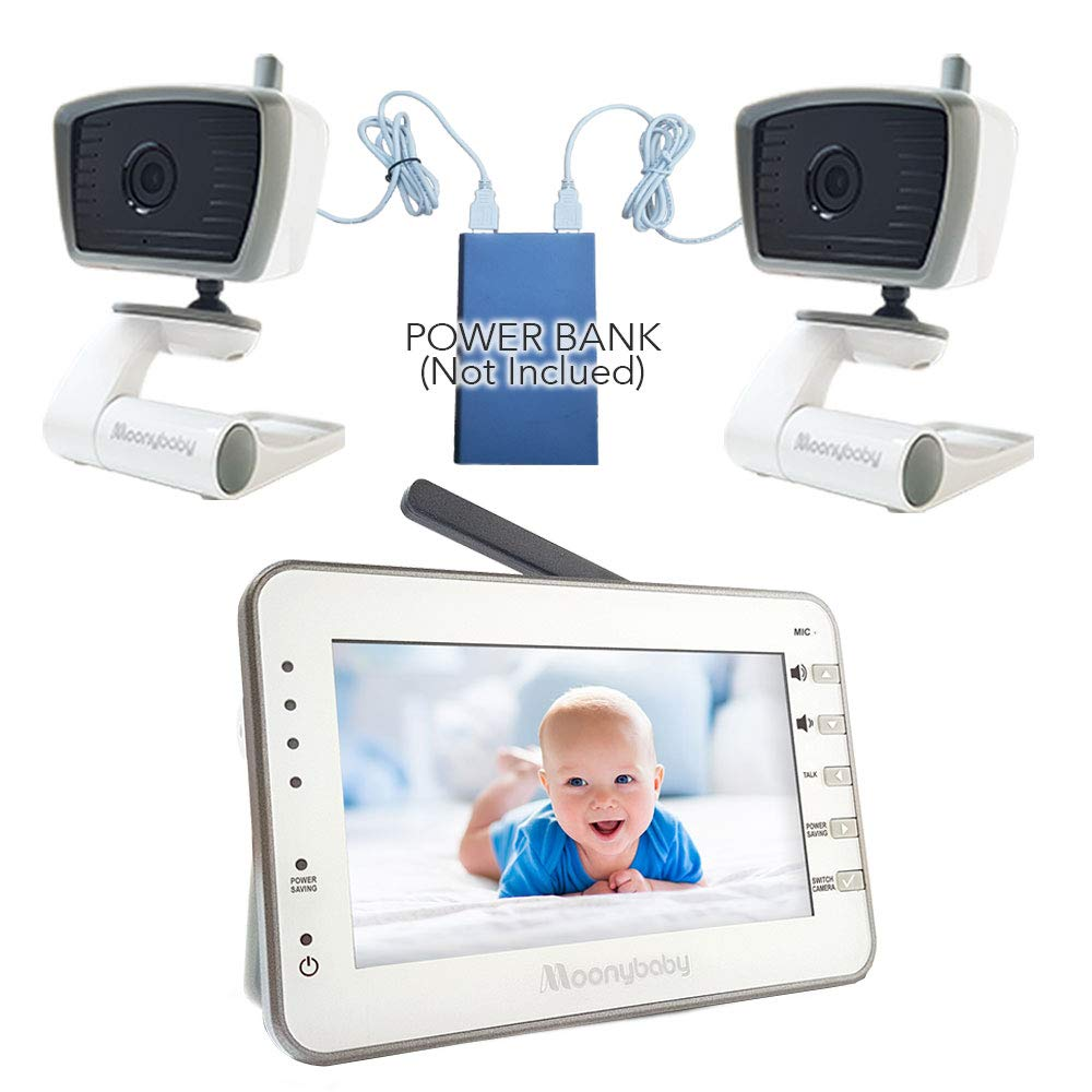 Video Baby Monitor for Camping or Vacation by Moonybaby