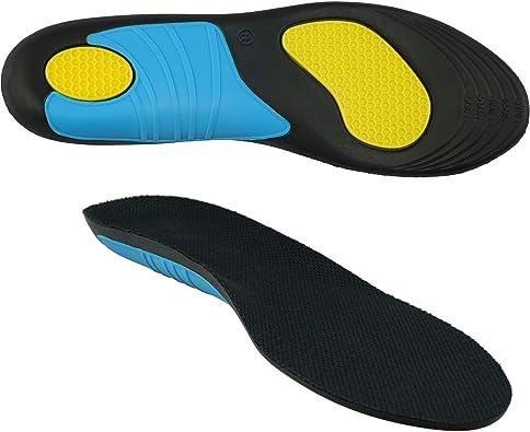 smart&gentle Plantillas gel especiales para calzado de trabajo - Transpirables, talla ajustable, amortiguan impactos, plantillas fascitis plantar y otras molestias: Amazon.es: Zapatos y complementos
