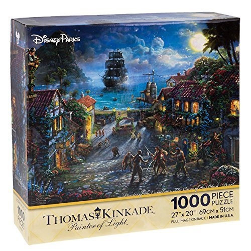 (Disney Parks Exclusive Thomas Kinkade Pirates of Caribbean 27