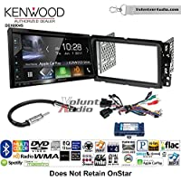 Volunteer Audio Kenwood Excelon DDX6904S Double Din Radio Install Kit with Satellite Bluetooth & HD Radio Fits 2013-2014 Buick Enclave, 2013-2014 Chevrolet Traverse