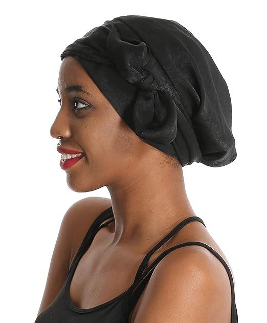 qualité authentique les dernières nouveautés plus grand choix de Amazon.com: Silk Hair Head Scarf Satin Bonnet Head Wrap ...
