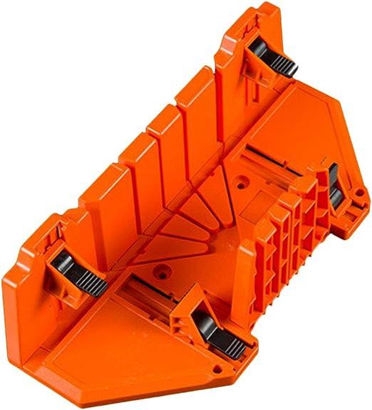 Caja de inglete de sujeci/ón oblicua multiuso para sierra de /ángulo diferente A N herramienta de carpinter/ía ajustable para cortar madera accesorios para el hogar