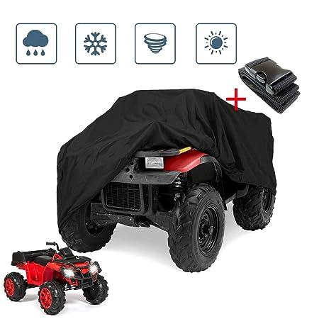 SHDlYE Cubierta de la Moto Cubierta Impermeable para ATV ...