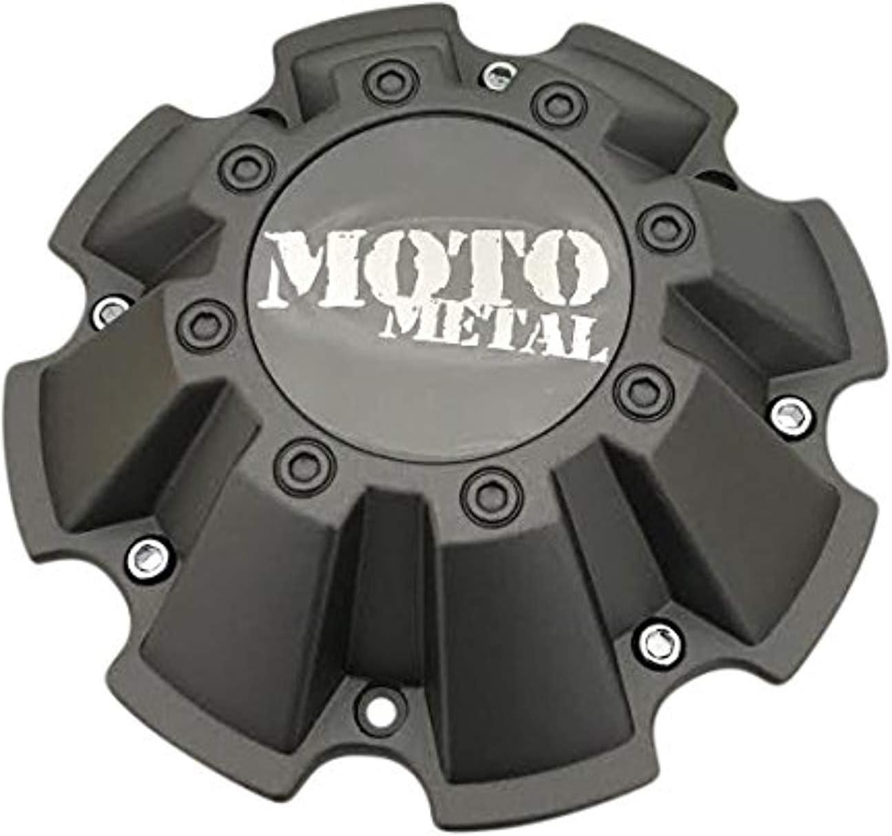 Moto Metal Wheels 793 Cap M-967 Grey Finish Center Cap