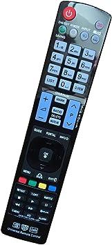 Mando a Distancia el LG TV reemplaza el Control Remoto del para Varios TV LG LCD AKB72914209 AKB73615303 AKB72915207 AKB76756504 Televisor Control ...