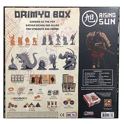 Kickstarter Exclusives new sealed Rising Sun Daimyo Box