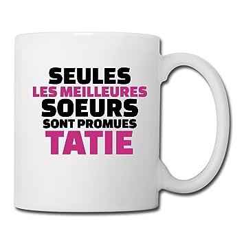Meilleures Promues Sont Tatie Sœurs BlancBlanc Les Mug Spreadshirt ulPkZTXwOi