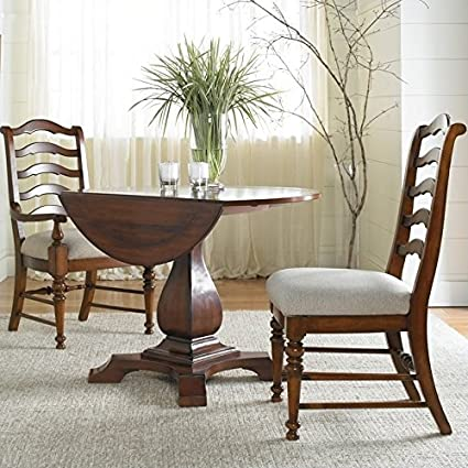 Merveilleux Beaumont Lane Round Drop Leaf Pedestal Dining Table