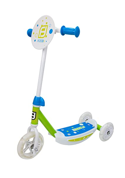 Funbee OFUN13-G-LED-ES - Patinete de Tres Ruedas, Color ...