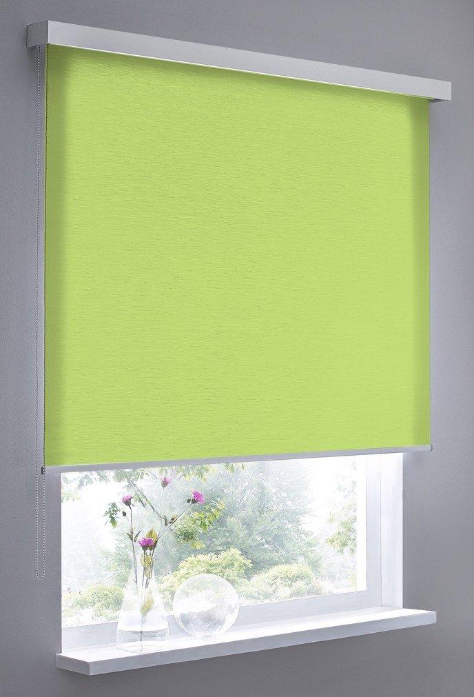 Estor Vidella estructura opaca para montaje en pared 60 cm, verde/amarillo, cube ST-4 60