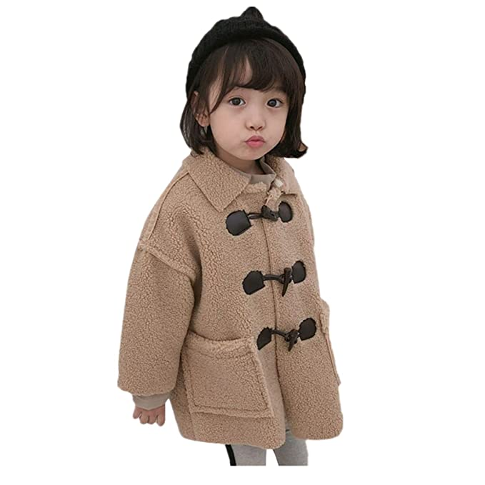 077c1d98 BSGSH_Baby Clothes Toddler Baby Kids Girls Coat Casual Fleece Fuzzy Faux  Shearling Warm Winter Oversized Outwear
