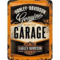 Harley-Davidson garaje las motocicletas. moto. Chopper. Vintage,retro en