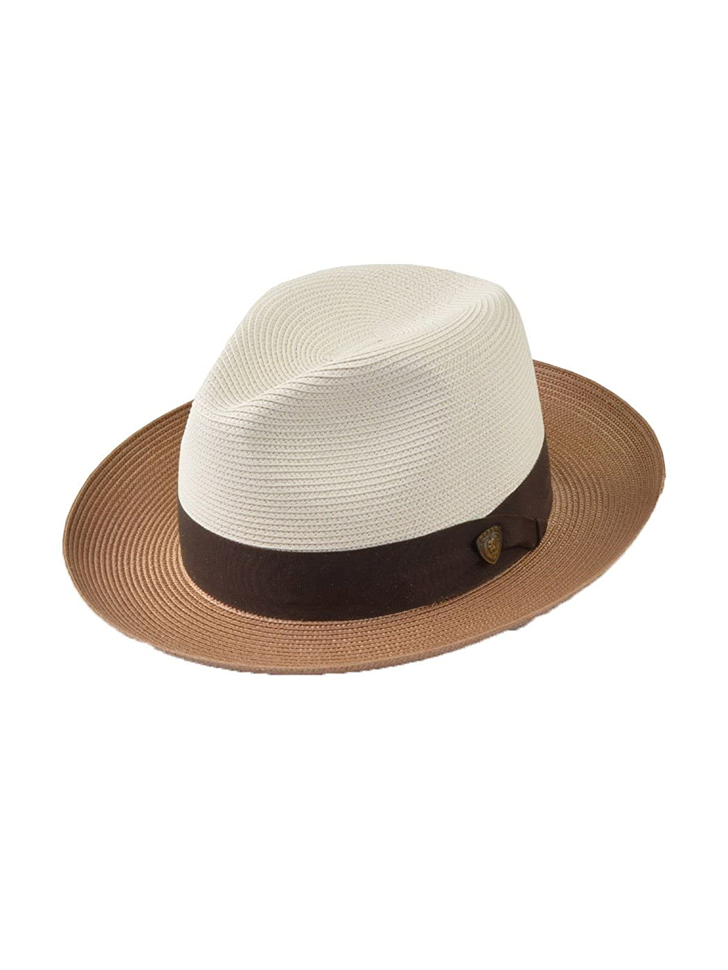 62727adb538 Stetson & Dobbs DSTLDO Men's Toledo Straw Hat at Amazon Men's Clothing  store: