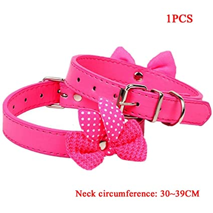 Qianming Collar para Mascotas Collar para Perros Collar para Gatos Accesorios para Mascotas Collar de Alta