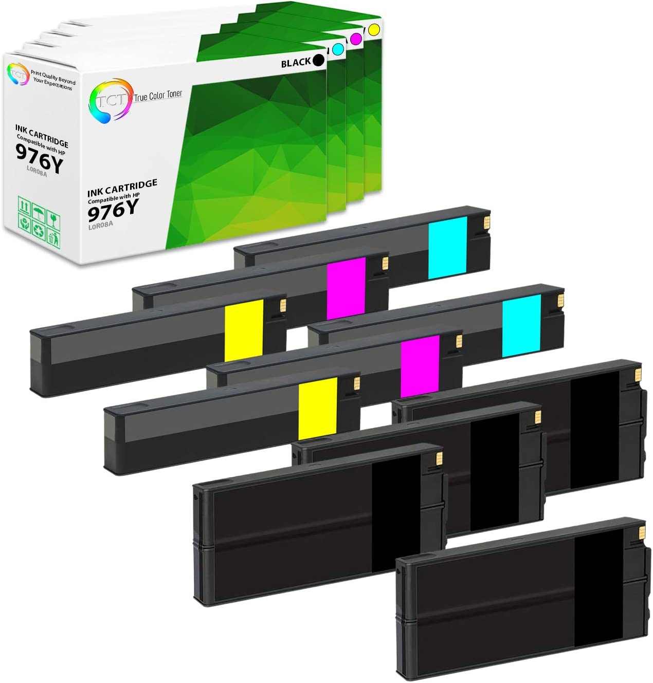 HP 976Y Travis Technologies Compatible Ink Cartridge Replacement for HP L0R05A Reman Extra Hi Yld Cyan Ink Cartridge