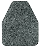 Direct Floor Mats Odor and Bacteria Eliminating Disposable Urinal Mats - Grey (Case of 12)