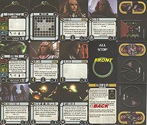 Star Trek Attack Wing Klingon Civil War Storyline Op Kit 3 Prize Pack