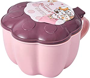 Siji Cat's Claw-Shaped Seasoning Box and Chin-Shaped One-Piece Multi-Chamber Seasoning Jar Food Storage Container Set Pantry Containers Air-Tight Food Storage