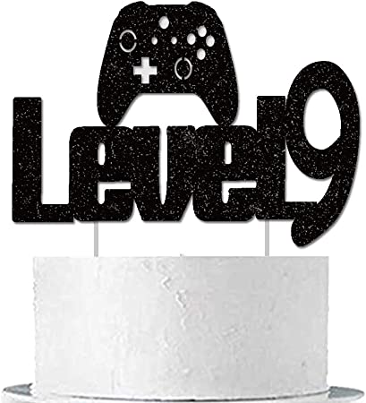 video game cake topper