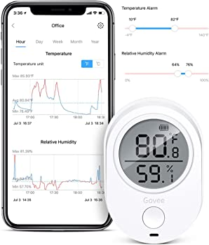 Govee Bluetooth Temperature Humidity Monitor