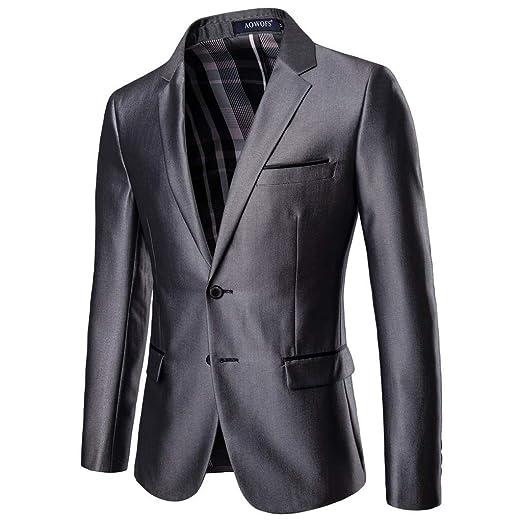 Traje ajustado para hombre, ajustado, para negocios, bodas ...