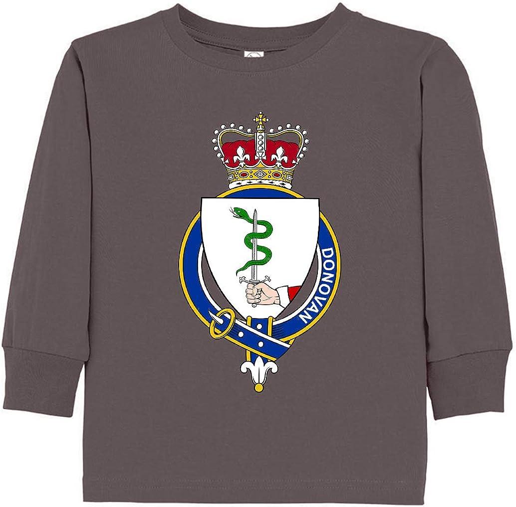 Tenacitee Toddlers Irish Garter Family Donovan Long Sleeve T-Shirt